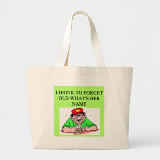 a funny divorce idea for you! canvas bags