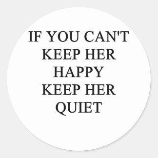 a funny divorce idea for you classic round sticker