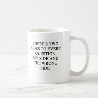 a funny divorce idea for you! classic white coffee mug