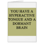 a funny divorce idea for you greeting card