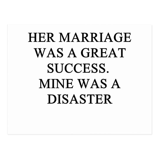 a funny divorce idea for you! postcard