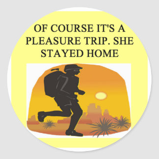 a funny divorce idea for you! round sticker