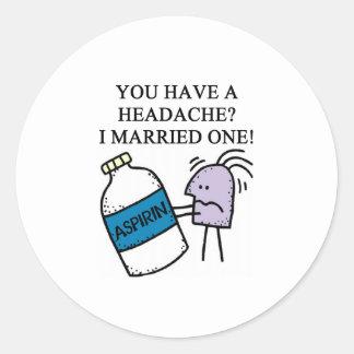 a funny divorce joke stickers