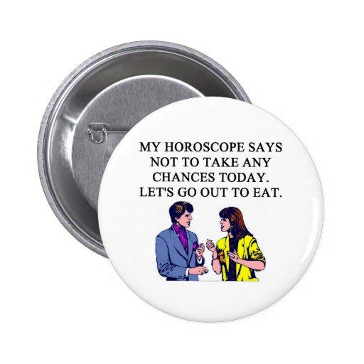 a funny horoscope joke pin