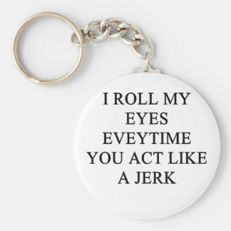 a funny insult keychain