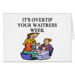 a funny waitress joke greeting cards