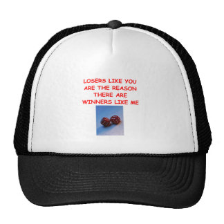 a funny winners and losers joke trucker hat