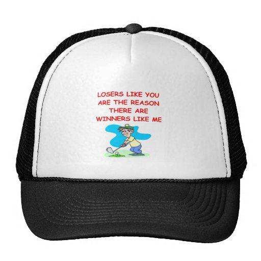 a funny winners and losers joke trucker hats