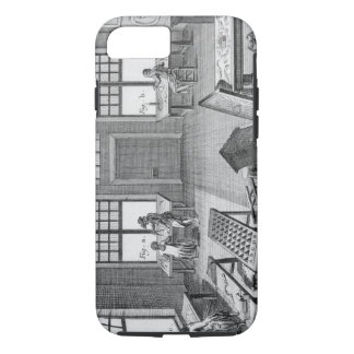 A furniture inlayer's workshop, from the 'Encyclop iPhone 8/7 Case