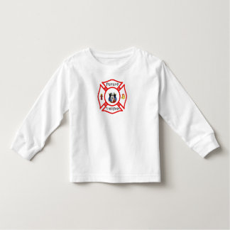 A Future Firefighter Red Maltese Shirt