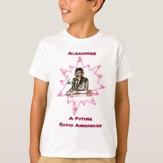 A Future Radio Announcer T-Shirt