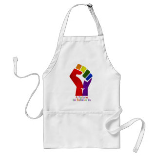 A Future to Believe in LGBT Adult Apron