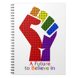 A Future to Believe in LGBT Notebook