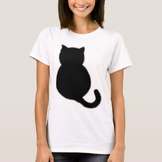 A fuzzy cat on your shirt