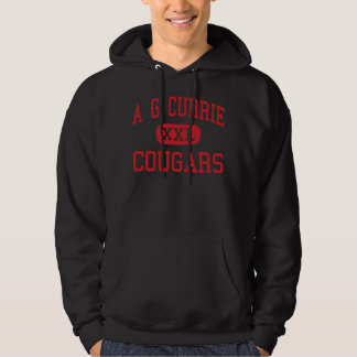 A G Currie - Cougars - Middle - Tustin California Hoodie