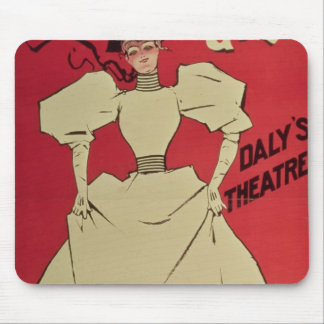A Gaiety Girl at the Daly's Theatre Mouse Pad