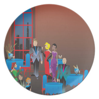 A Gala Affair Melamine Plate