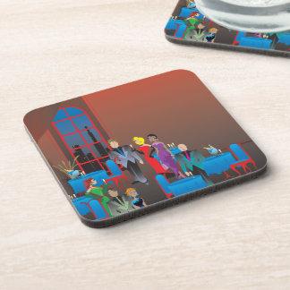 A Gala Affair Plastic Coasters