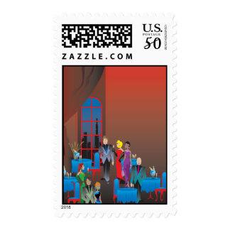 A Gala Affair Postage Stamp