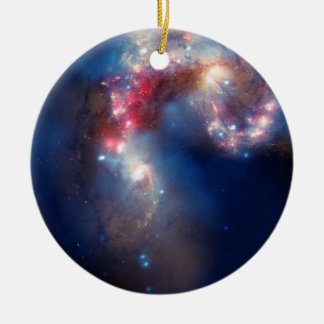A Galactic Spectacle Christmas Tree Ornament