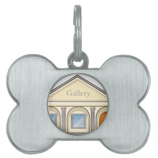 a gallery pet ID tags
