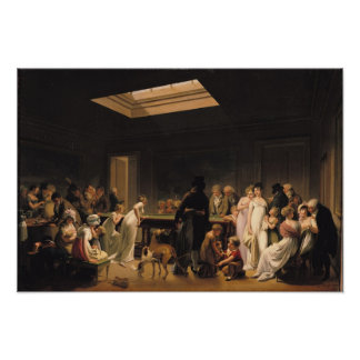 A Game of Billiards, 1807 Posters