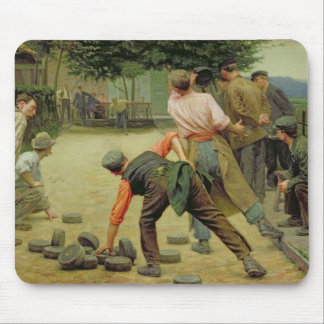 A Game of Bourles in Flanders, 1911 Mouse Pad