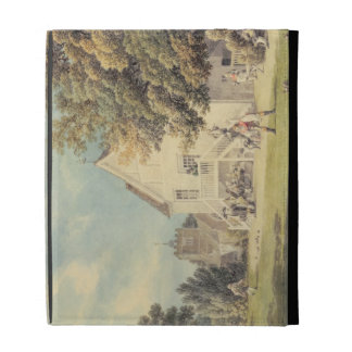 A Game of Bowls on the Bowling Green outside the B iPad Folio Cases