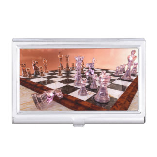 A Game of Chess Business Card Holder