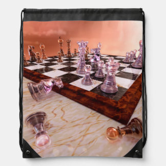 A Game of Chess Cinch Bag