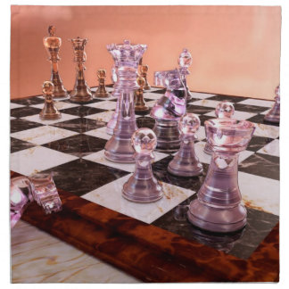 A Game of Chess Cloth Napkins