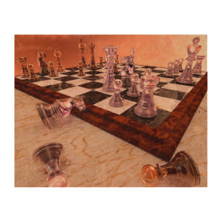 A Game of Chess Cork Fabric