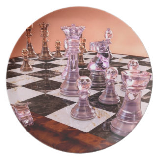 A Game of Chess Dinner Plate