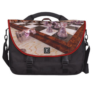 A Game of Chess Laptop Messenger Bag