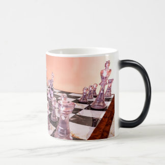 A Game of Chess 11 Oz Magic Heat Color-Changing Coffee Mug