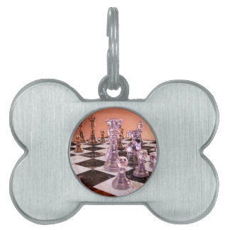 A Game of Chess Pet Tags