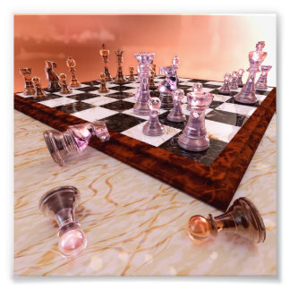 A Game of Chess Photo Print