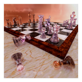 A Game of Chess Print