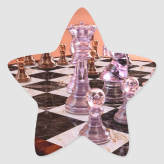 A Game of Chess Star Sticker