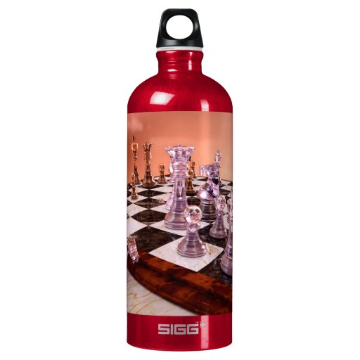 A Game of Chess Water Bottle