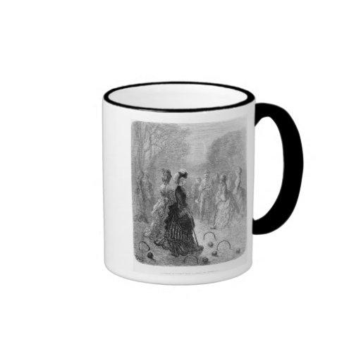 A Game of Croquet Mug