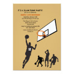 A Game of Hoops Invitation