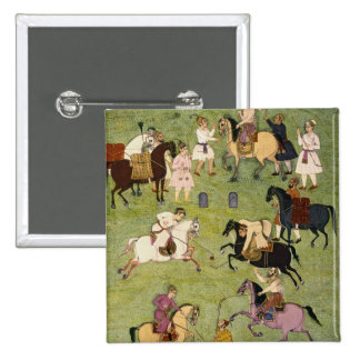 A Game of Polo, from the Large Clive Album Pinback Button