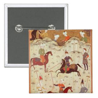 A Game of Polo Pinback Button
