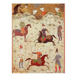 A Game of Polo Postcard