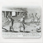A Game of Real Tennis with Sport Ballads below Mouse Pad