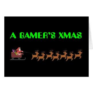 A Gamer's Xmas Card