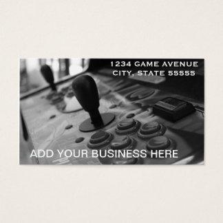 A Gamer's Business Business Card