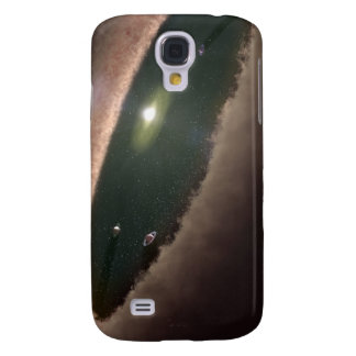 A gap in a protoplanetary, or planet-forming galaxy s4 covers
