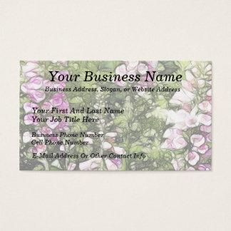 A garden full of Foxgloves Business Card